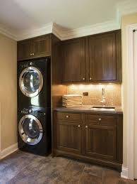 laundry in kitchen ideas top laundry room ideas stacked washer dryer with laundry room
