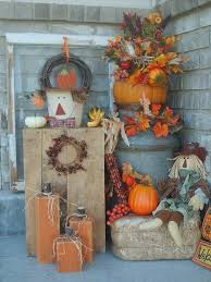 Fall Decorating Ideas For Front Porch - fall outdoor decorating ideas the colorful outdoor fall