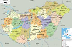 Map Of Spain With Cities by Maps Of Hungary Detailed Map Of Hungary In English Tourist Map