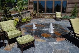 modish stone patio design ideas brick paver patio designs stone