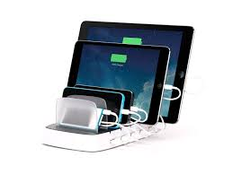 Family Charging Station Ideas by Amazon Com Griffin Powerdock 5 Multi Charger Dock Charges 5