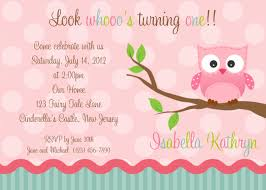 Free First Birthday Invitation Cards Owl First Birthday Invitations U2013 Gangcraft Net