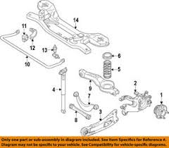 ford focus suspension diagram ford oem 13 16 focus rear suspension frame crossmember bv6z5035a