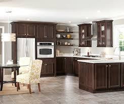 How To Clean Wood Kitchen by How To Clean Dark Cherry Wood Kitchen Cabinets Seeshiningstars