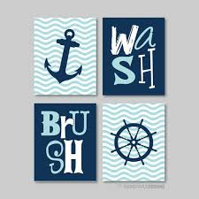 Sailor Themed Bathroom Accessories Best 25 Nautical Bath Ideas On Pinterest Nautical Craft