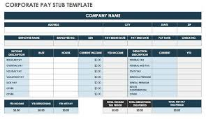 earning statement template pay stub template 17 free samples