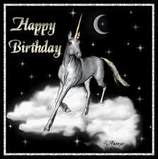 Unicorn Birthday Meme - happy birthday gif funny bday animated meme gifs