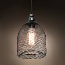 metal mesh cage lamp clearance home kitchen touch modern