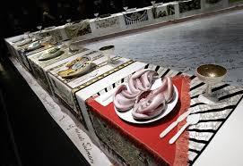 judy chicago dinner table an overdue celebration for an unruly landmark of feminist art the
