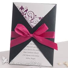 ribbon cheap 10 best images about ribbon wedding invitations on