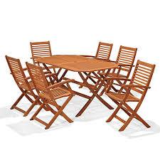 buy lewis venice gateleg table 6 folding armchairs fsc