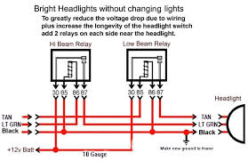 here is headlight relay wiring diagram corvetteforum chevrolet