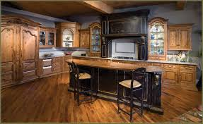 alder wood cabinets kitchen 2017 also splendid rustic open spaces