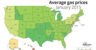 Gas Map How Much Is Your State Paying For A Gallon Of Gas
