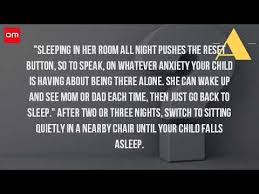 How To Sleep In A Chair How Do I Get My Son To Sleep In His Own Bed Youtube