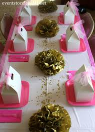 centerpieces for quinceaneras pink and gold quinceanera decorations archives events to celebrate
