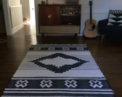 Aztec Style Rugs Hand Made Loomed Kilim Style Rugs Aztec Style Design