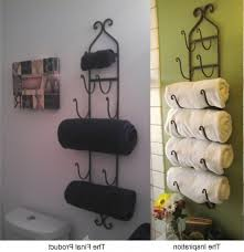 bathroom towel rack decorating ideas bathroom best bath towel decor ideas on bathroom