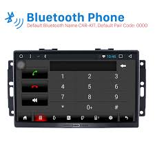 2005 jeep grand bluetooth 9 inch android 6 0 2004 2007 jeep commander compass