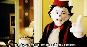 Cat In The Hat Meme - cat in the hat dr seuss funny gif find make share gfycat gifs