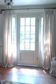 Curtains For Doors With Windows Curtain For Door Window Small Rod Curtains Entry Windows