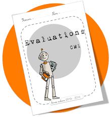 Page de garde Evaluations CPCM2  Bout de Gomme