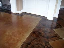 Best Tile For Basement Concrete Floor by 14 Best Stained Floors Images On Pinterest Homes Stained
