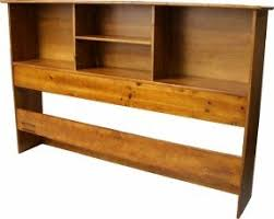 Natural Wood Bookcases King Size Bookcase Headboard Foter