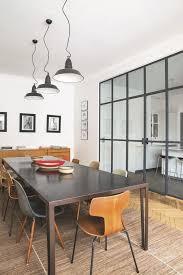 verriere entre cuisine et salle à manger chaise et table salle a manger pour fenetre verriere atelier