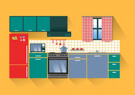 kitchen collection vacaville pacote vector bela cozinha doll houses sewing and miniatures