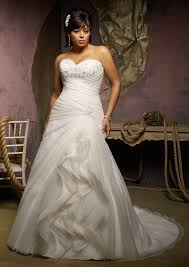 wedding dresses for curvy beautiful brides let u0027s choose the style