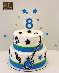 guitar cake topper rockstar guitar cake birthday the hudson cakery