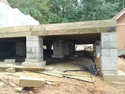 how to build a crawl space foundation for a house house plans