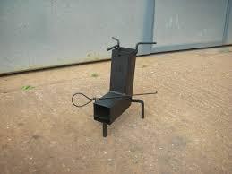 painted dk rocket stove for festivals dk rocket stoves