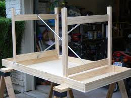 diy folding train table dan becker s model trains building a table