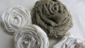 Fabric Shabby Chic by How To Make Adorable Vintage Shabby Chic Rolled Fabric Roses