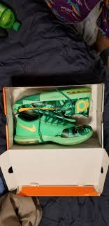 easter kd nike kd vi 6 easter green camo kevin durant sneakers size 12 ebay
