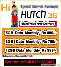 Hutch Lk Hutch Special Data Packages For Sale In Colombo Smartmarket Lk