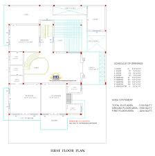 design with plan 5100 sq ft kerala home design and floor plans