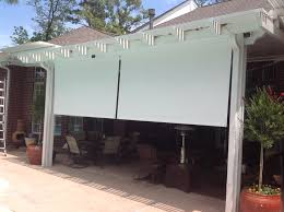 Drop Down Blinds Houston Outdoor Shades Roll Up Or Down Shades Roll Away Shade