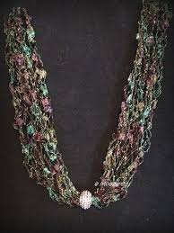 trellis ladder yarn necklace instructions 30 best necklaces images on pinterest