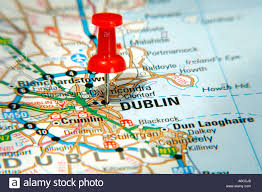 Dublin Ohio Map by Map Pin Pointing Dublin Ireland Stock Photos U0026 Map Pin Pointing