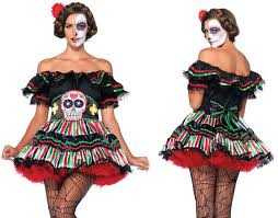 day of the dead costumes day of the dead doll womens hire costume hire costumes and fancy
