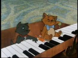 aristocats mi fa mi piano song deutsch