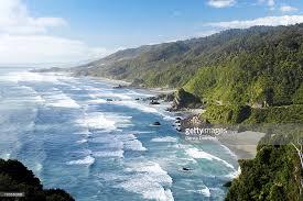 Park West Landscape by Coastline North Of Irimahuwhero Viewpoint Paparoa National Park