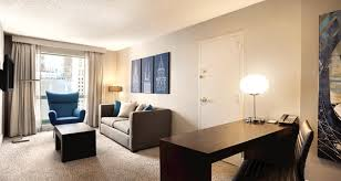 living room chicago hilton chicago magnificent mile suites hotel