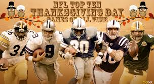 raiders thanksgiving game top 10 nfl thanksgiving day games of all time