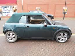 british racing green 05 british racing green convertible 1 6 bmw mini cooper speedy