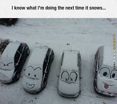Funny Snow Memes - funny snow car art funny pictures pinterest snow cars and humor