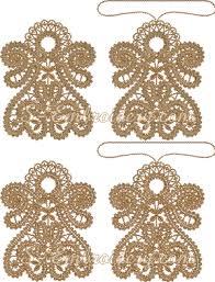 battenberg lace ornaments 10647